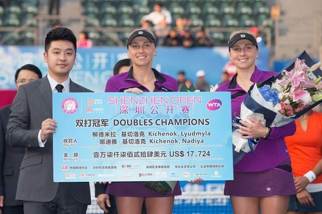 Сестры Киченок чемпионки Шэньчжэня