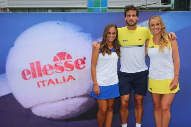 Итальянский бренд Ellesse провел фотосессию с участием Элины Свитолиной