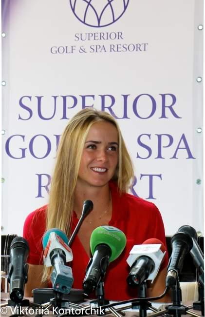 Элина Свитолина провела пресс-конференцию в Харькове (+видео и фото)