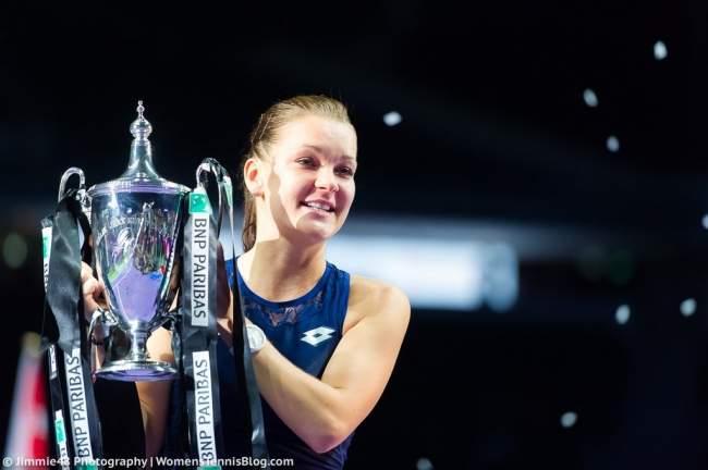 Итоговый турнир WTA. Мугуруса была сильнее Остапенко