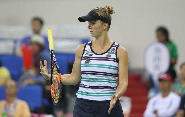 Теннис: матч Свитолина— Гарсия признан WTA лучшим в нынешнем году