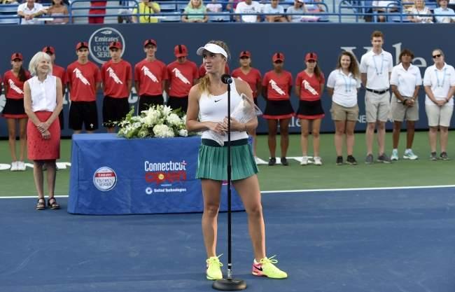 """Элина Свитолина: """"Нет времени грустить о поражении в Нью-Хейвене, потому что стартует US Open"""""""