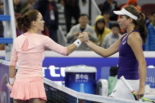 Агнешка Радваньска - чемпионка турнира в Пекине (+видео)