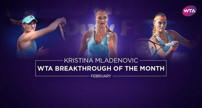 Элина Свитолина стала лучшей теннисисткой февраля по версии WTA
