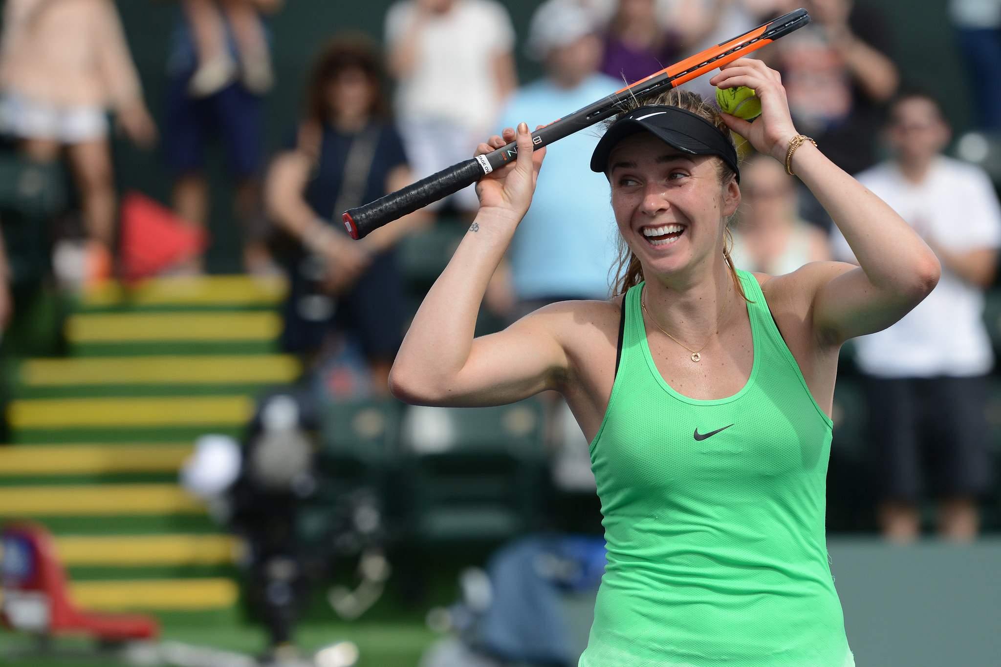 Украинка Свитолина стала лучшей теннисисткой мира кконцу зимы