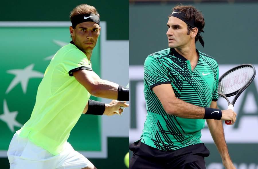 Федерер победил Надаля ивышел в ¼ финала турнира вИндиан-Уэллсе