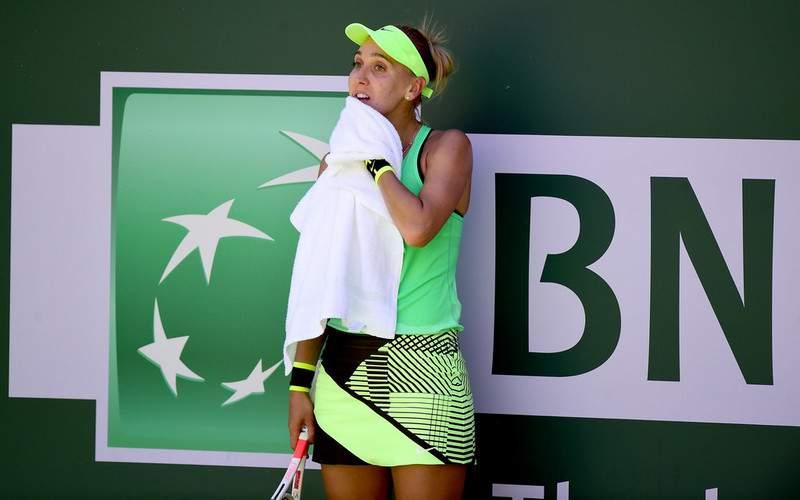 Теннисистка Веснина вышла вчетвертьфинал турнира вИндиан-Уэллсе