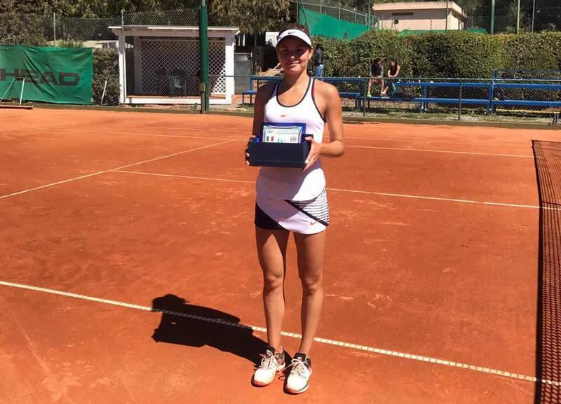 Украинка стала чемпионкой теннисного турнира вИталии