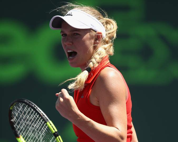 Йоханна Конта— Каролина Возняцки: прогноз нафинал WTA Miami Open