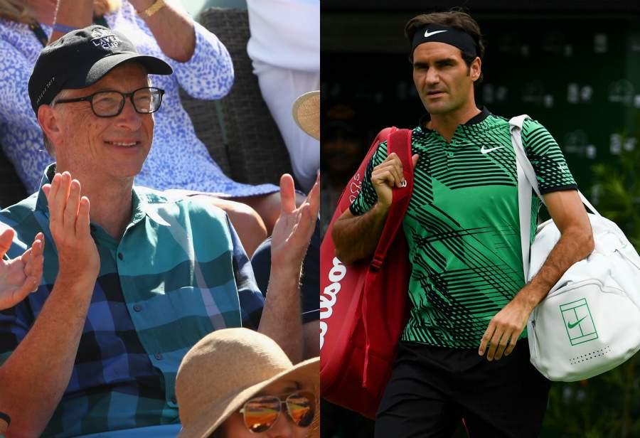 Федерер сыграет впаре сБиллом Гейтсом