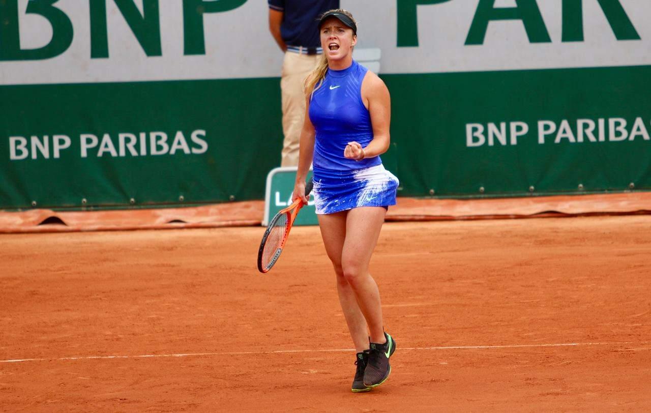 Свитолина начинает суверенной победы наRoland Garros