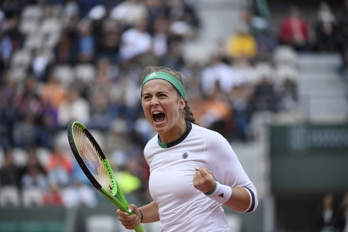Латвийская теннисистка Остапенко сенсационно выиграла «Ролан Гаррос»