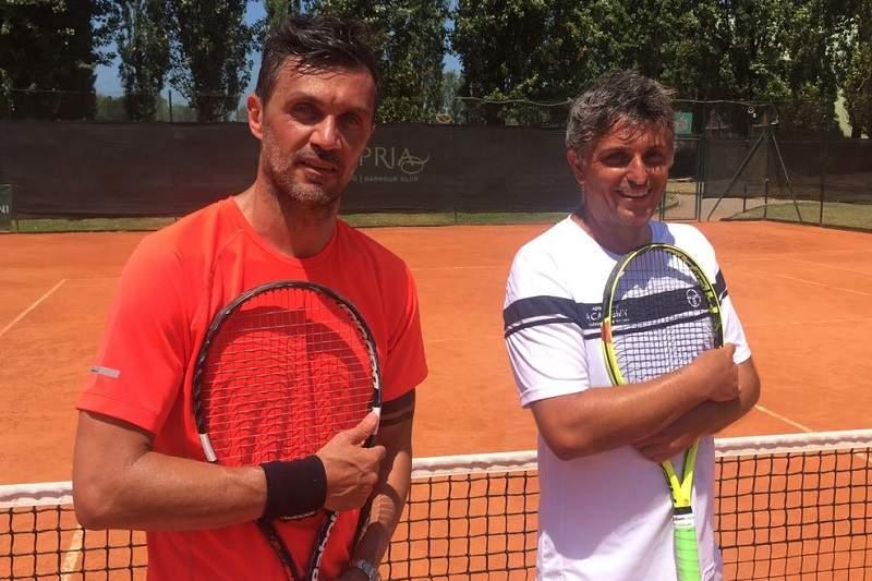 Прошлый футболист сборной Италии Мальдини дебютирует впрофессиональном теннисе в49 лет