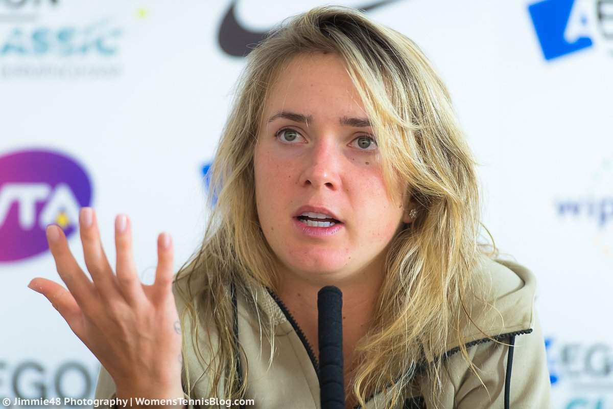 Элина СВИТОЛИНА: «Моя основная цель - Итоговый турнир WTA»