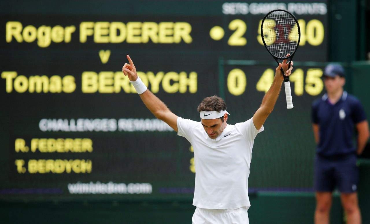 Раонич: «Можно понимать, как обыграть Федерера, однако трудно это сделать»