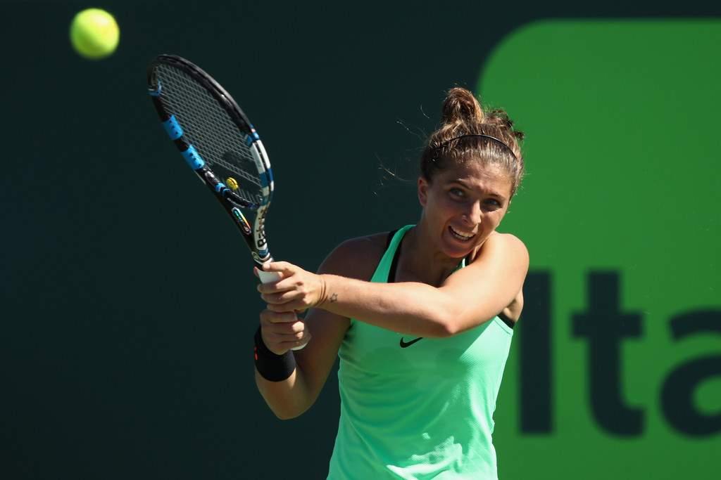 Итальянская теннисистка Эррани дисквалифицирована надва месяца задопинг