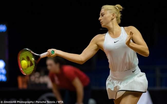 Украинка Завацкая одержала дебютную победу натурнире WTA