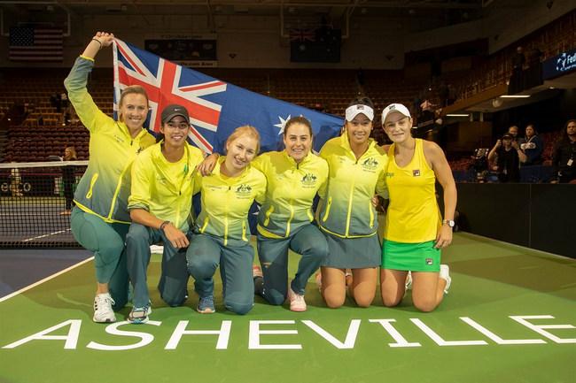 Полуфинал Кубка федерации белорусские теннисистки проведут вАвстралии