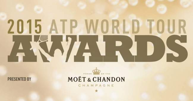 Братья Брайаны, Джокович, Федерер, Зверев: победители 2015 ATP World Tour Awards