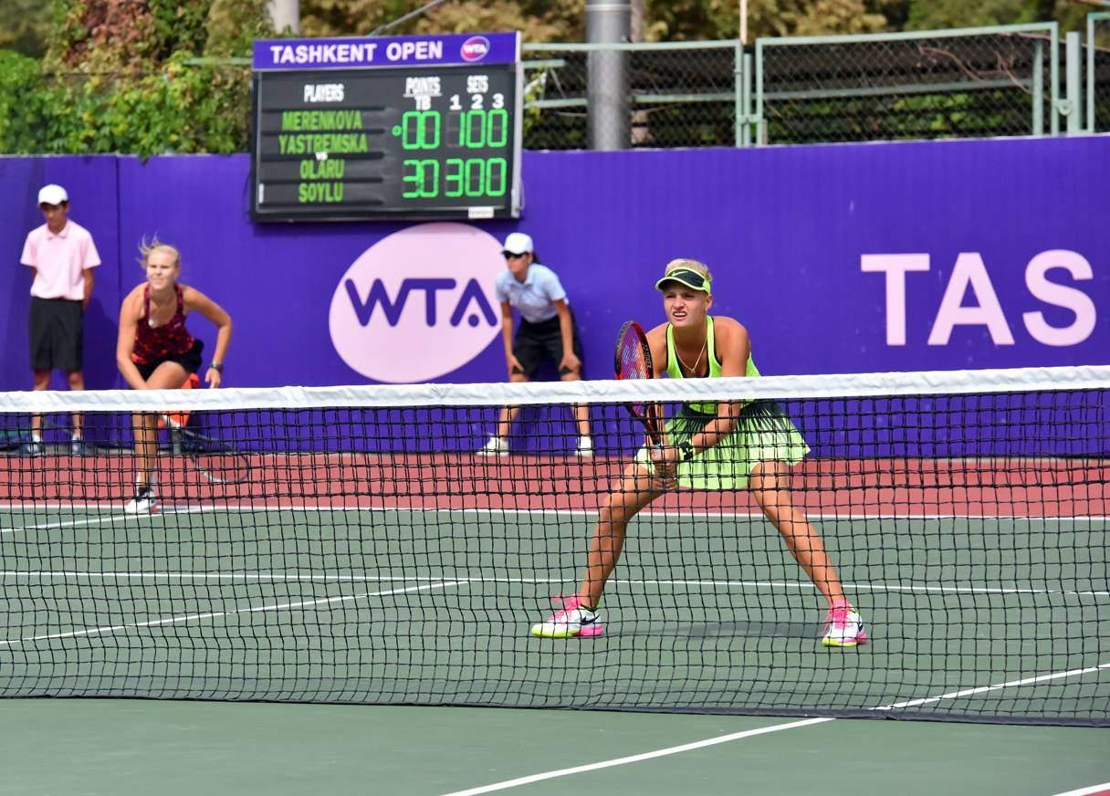 Такшент (WTA). Ястремская покидает парный разряд