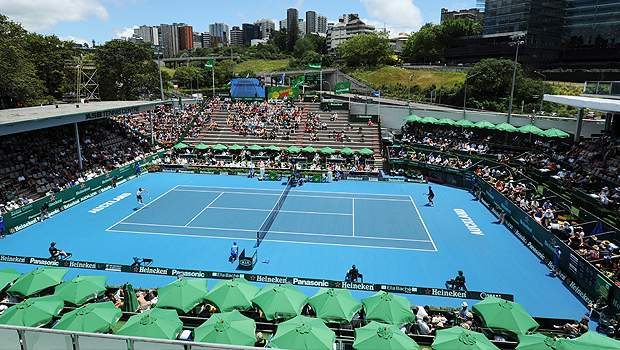 Теннис окленд