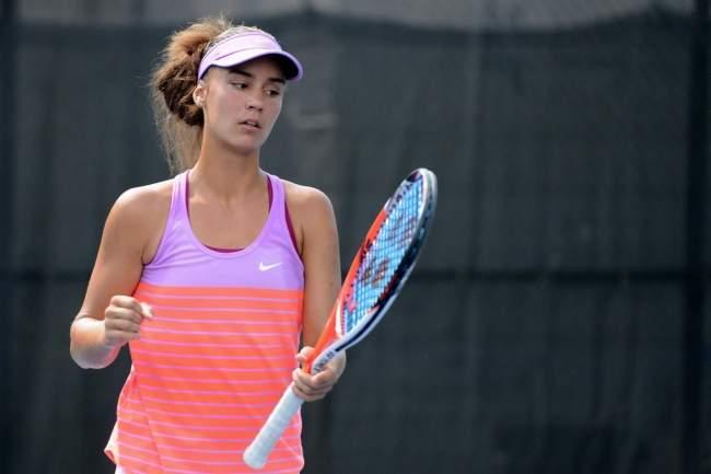 Новокаховчанка Ангелина Калинина начала турнир в США с победы