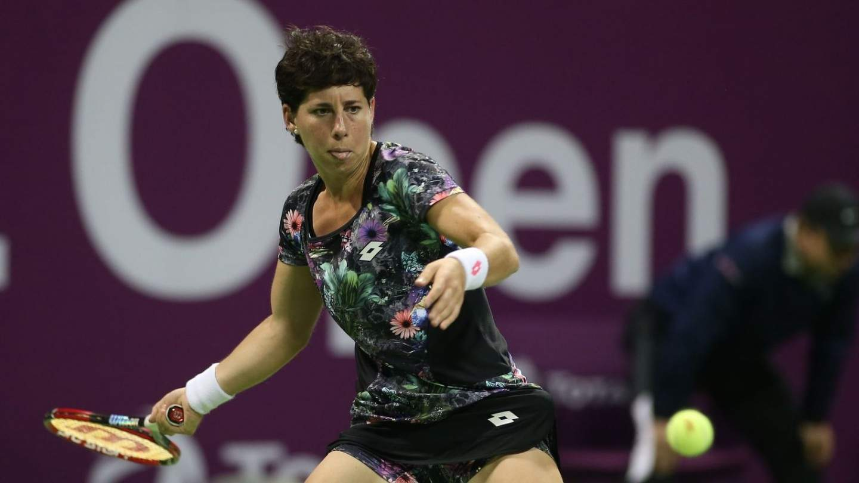Суарес-Наварро снялась с турнира в Чжухае