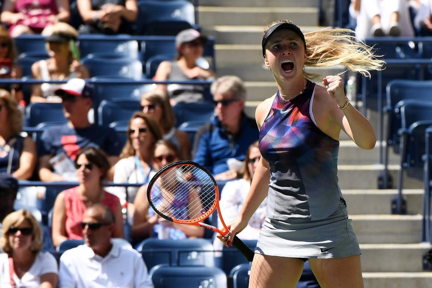 Свитолина впервый раз вкарьере вышла в1/8 финалаUS Open