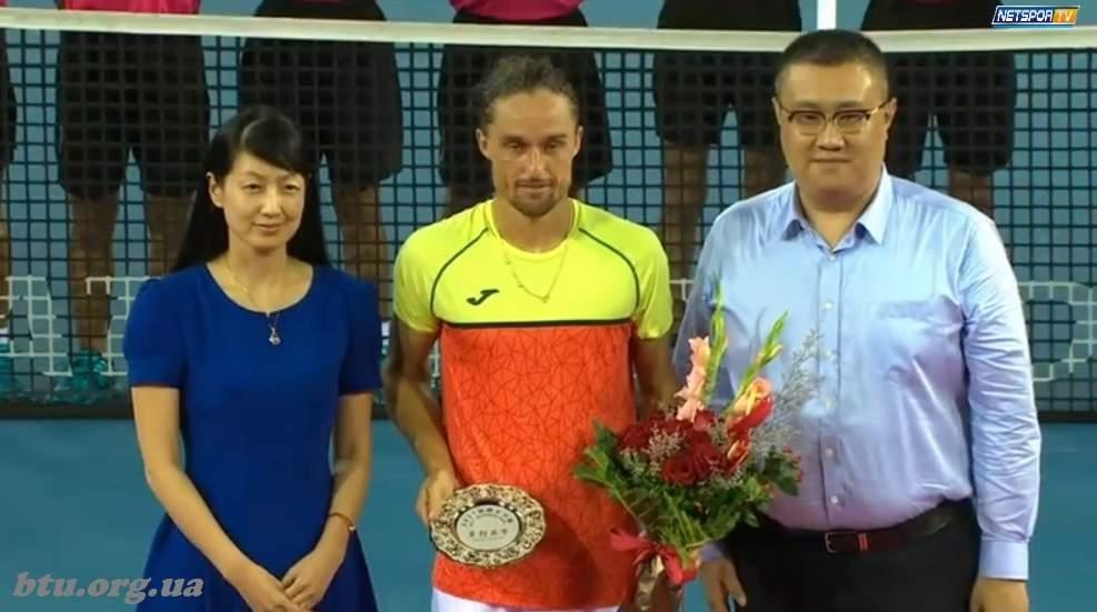 Долгополов пробился вфинал престижного турнира вКитае