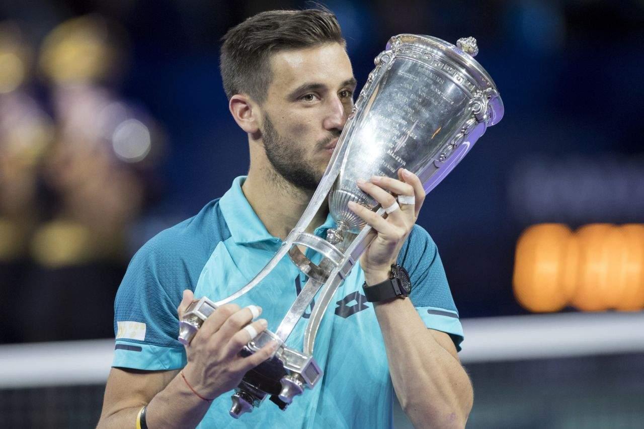 Теннисист Беранкис вышел вфинал Кубка Кремля