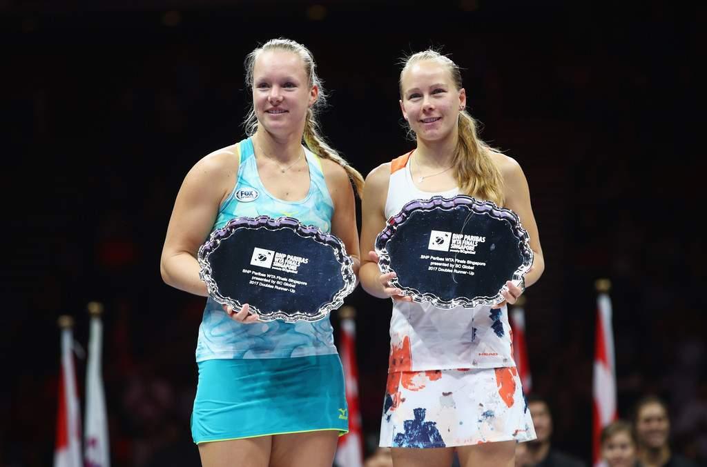 Агрессивная игра помогла одолеть вфинале итогового турнира WTA впарах— Бабош