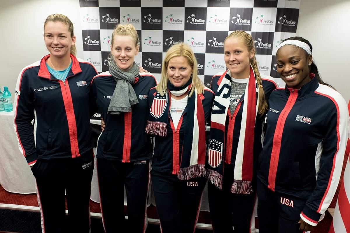 Риналди возглавила сборную США в Кубке Федерации