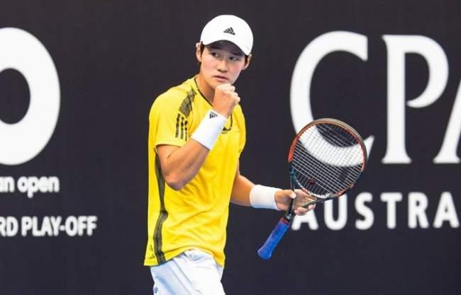 Australian Open. 20-летний кореец получает путевку в основную сетку турнира 7ffc7a4d2bfd9
