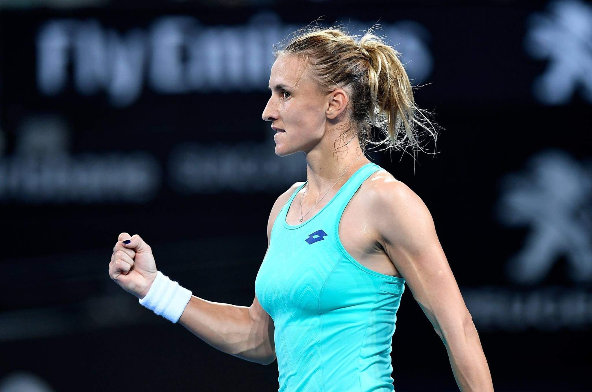 Цуренко впервый раз с 2013 года победила стартовый раунд Australian Open