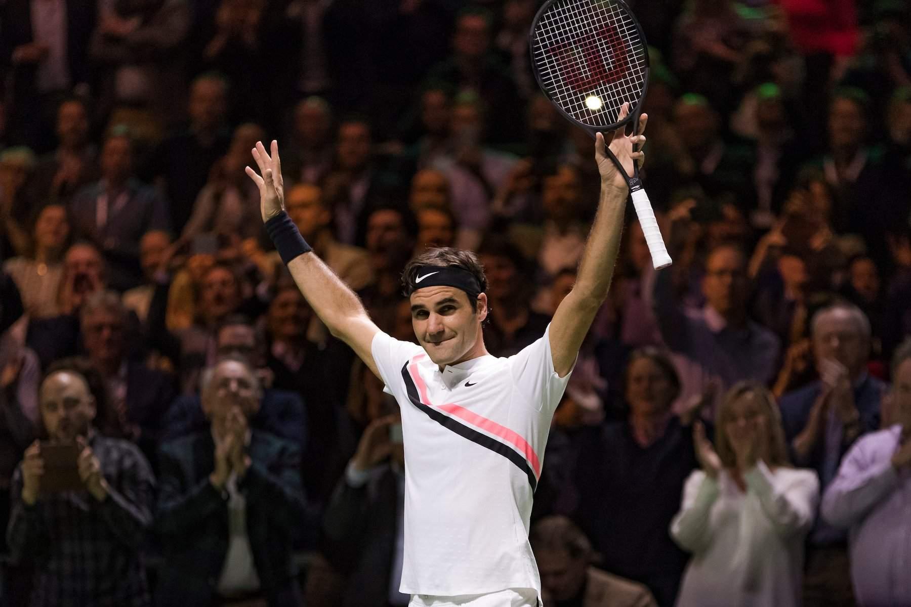 Роджер Федерер возглавил мировой рейтинг