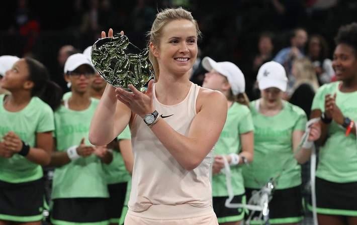 Свитолина выиграла выставочный турнир вНью-Йорке