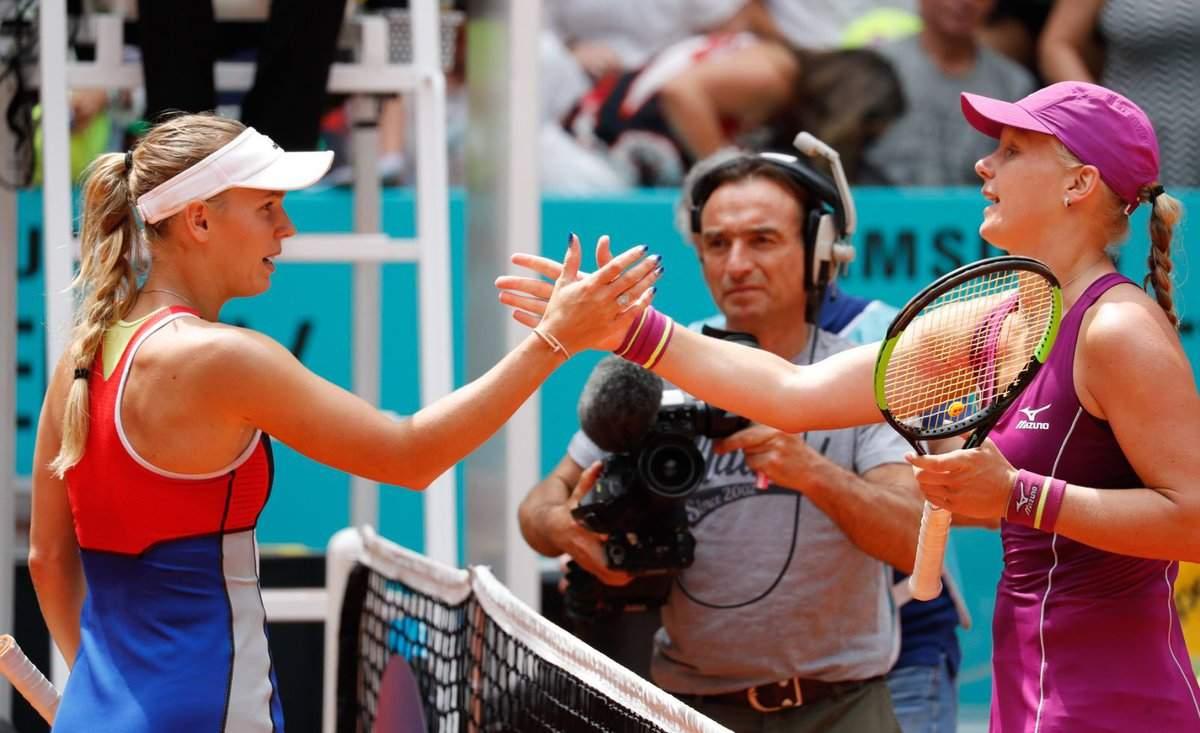 Мария Шарапова одолела Кристину Младенович— Мадрид